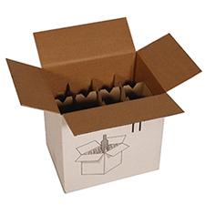 Carton pour bouteilles
