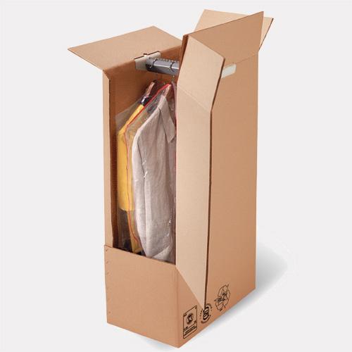 Penderie cartons